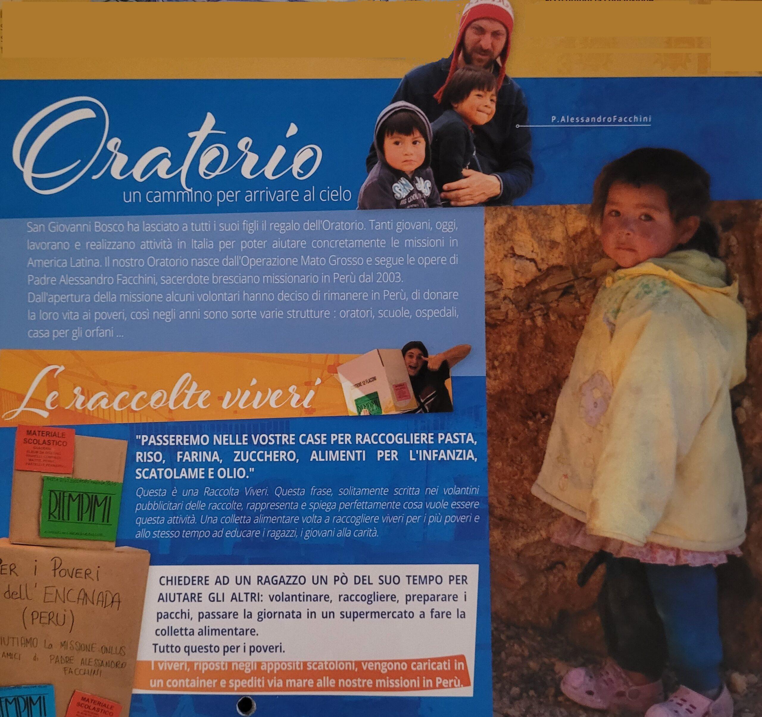 Un dono per i poveri del Perù